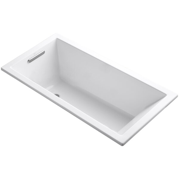 Underscore Vibracoustic 60 x 30 Soaking Bathtub by Kohler