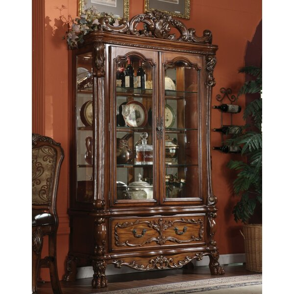 OConnor Curio Cabinet by Astoria Grand