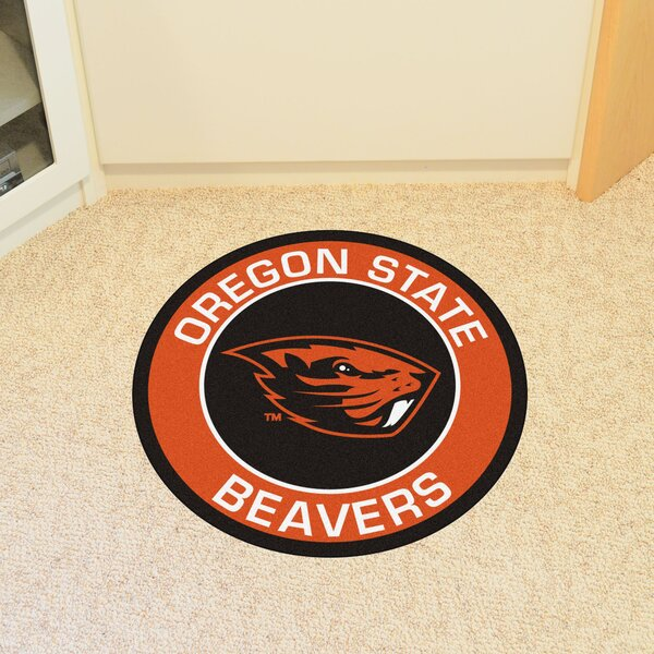NCAA Oregon State University Roundel Doormat by FANMATS