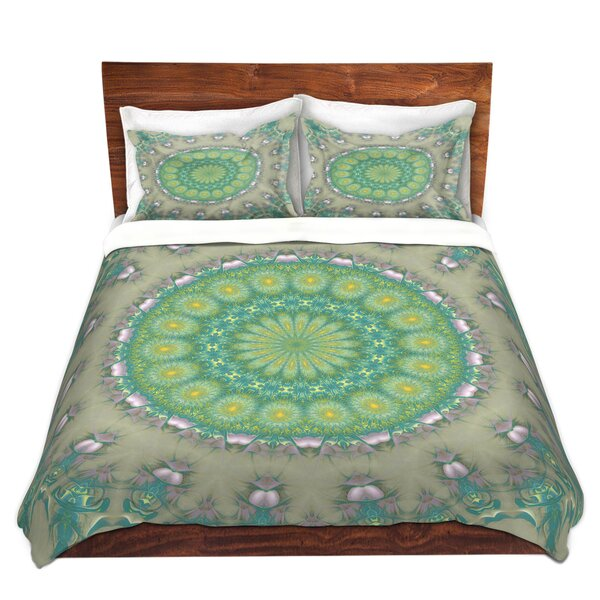 Yatesville Pam Amos Opal Slice Microfiber Duvet Covers by Bungalow Rose