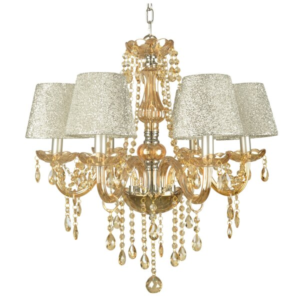 Michale 6-Light Shaded Classic / Traditional Chandelier by House of Hampton House of Hampton