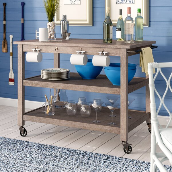 Niles Bar Cart by Beachcrest Home Beachcrest Home