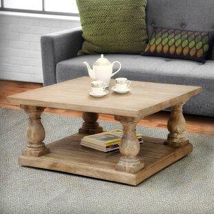 Hazel Pedestal Coffee Table