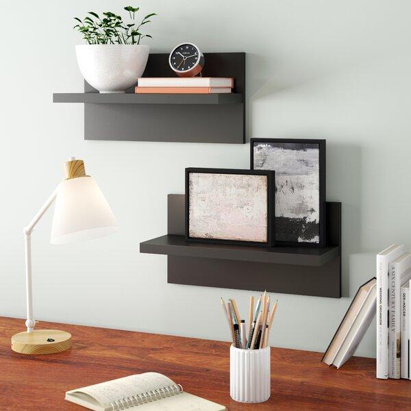 Tommen Wall Shelf (Set of 2) by Latitude Run