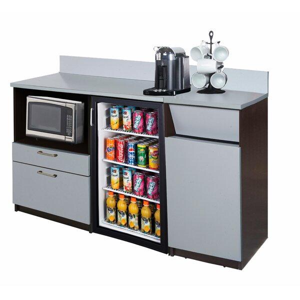 Coffee Kitchen Lunch Break Room 36 x 66 Base Cabinet by Breaktime