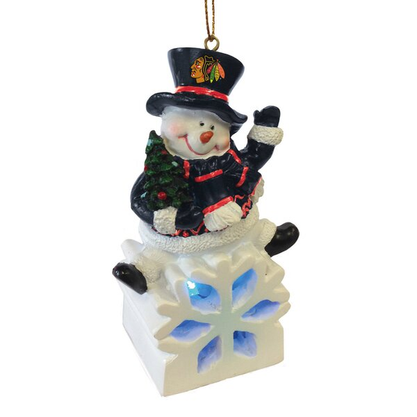 NHL Snowman LED Ornament by Evergreen Enterprises, Inc