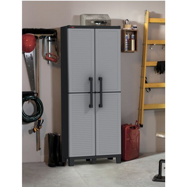 64 H x 27 W x 15 D Tall Utility Storage Cabinet by