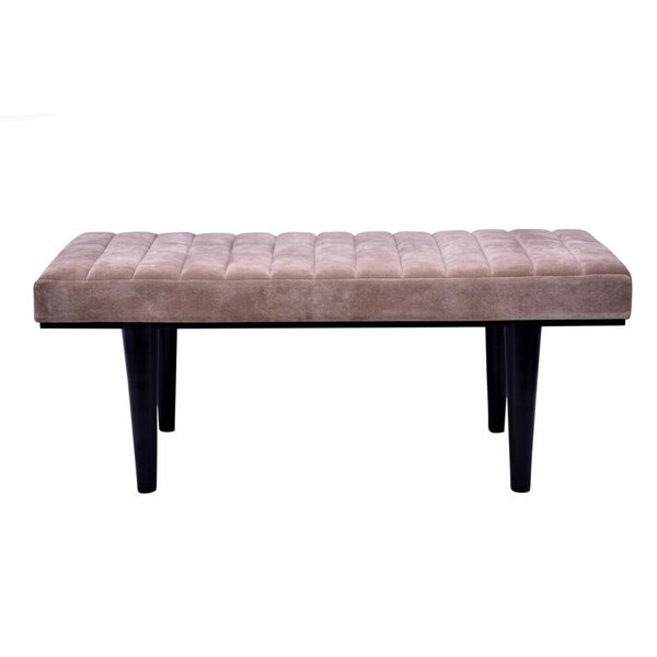 Wooley Bed Upholstered Bench by Brayden Studio