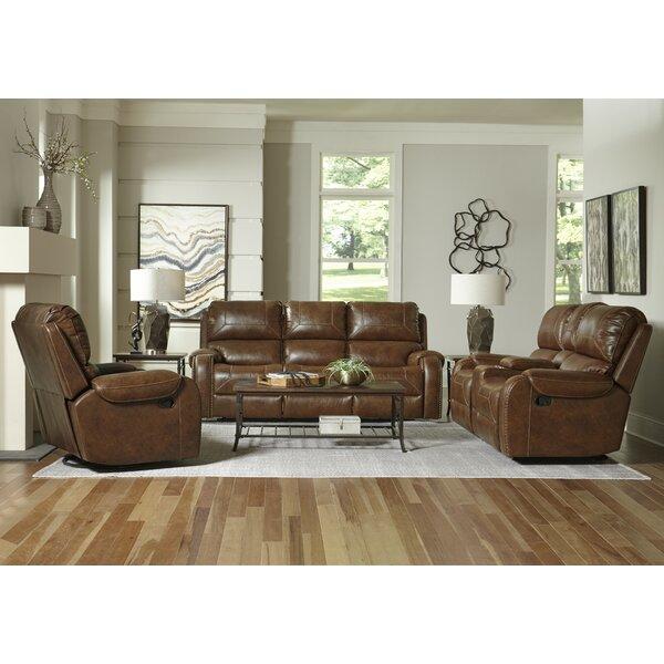 Brodbeck Reclining Configurable Living Room Set by Loon Peak Loon Peak