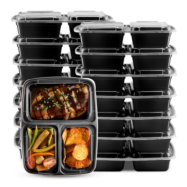 10 Container Food Storage Set (Set of 10) by Rebrilliant