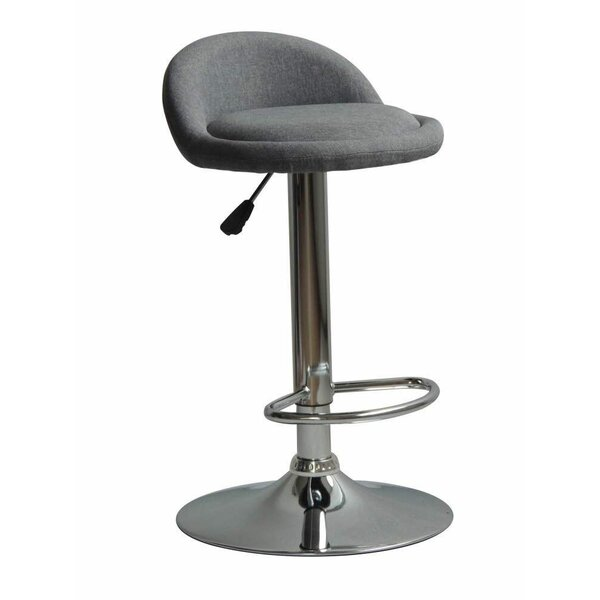 Murrell Contemporary Adjustable Height Swivel Bar Stool by Orren Ellis