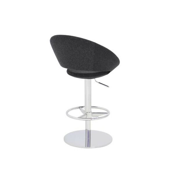 Hedgepeth Piston Adjustable Height Swivel Bar Stool by Orren Ellis