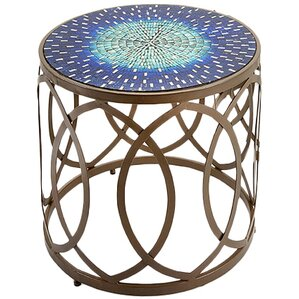 Nandita Mosaic End Table (Set of 2) by Bungalow Rose