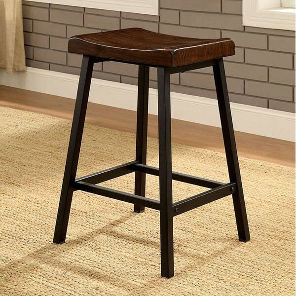 Caoimhe Counter Height Bar Stool (Set of 2) by 17 Stories