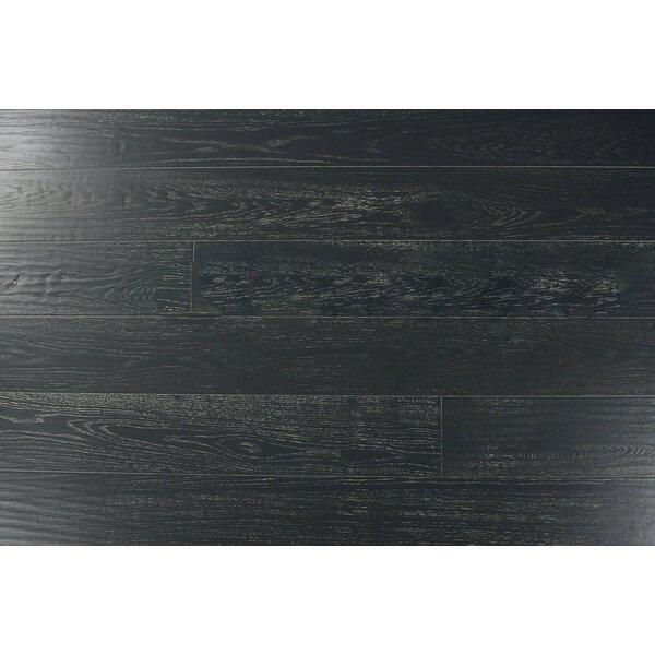 Belize 7-2/5 Engineered Oak Hardwood Flooring in Charleston Gray by Albero Valley