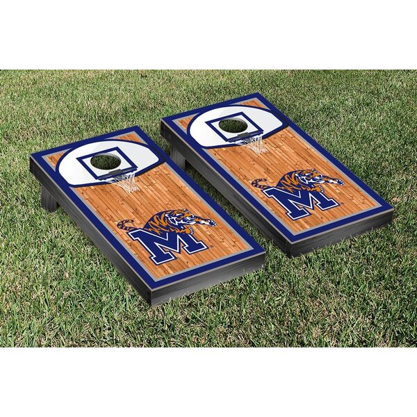 NCAA Basketball Hoop Version Cornhole Game Set by Victory Tailgate