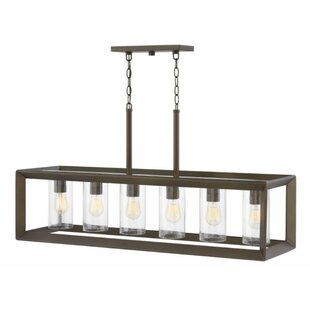 Rhodes Linear 6-Light Outdoor Pendant By Hinkley Lighting Outdoor Lighting