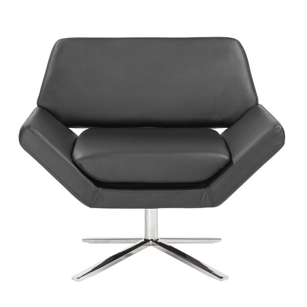 Cohen Swivel Lounge Chair by Wade Logan
