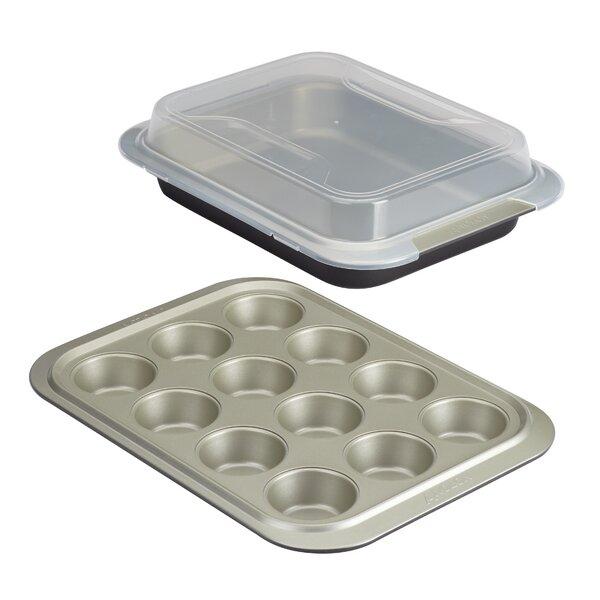 Allure 3 Piece Non-Stick Bakeware Set by Anolon
