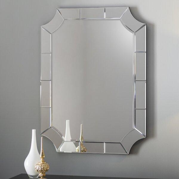 Scalloped Corner Wall Mirror by Willa Arlo Interiors