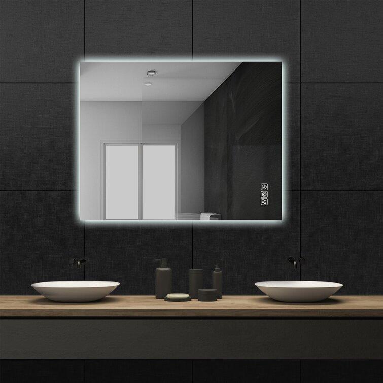 Orren Ellis Morada Led Lighted Bathroom Mirror Reviews Wayfair