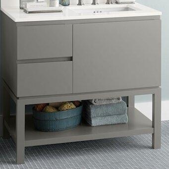 Chloe 36 Single Bathroom Vanity Base by Ronbow