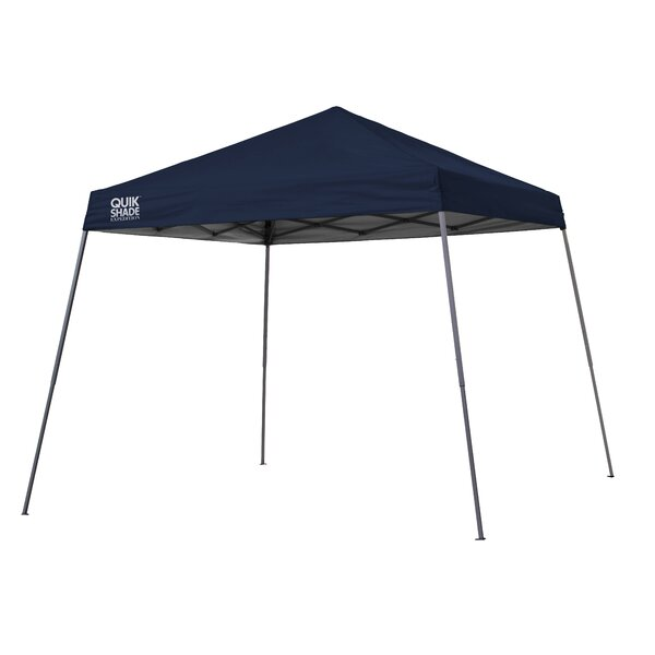 Quik Shade Expedition 10 Ft. W x 10 Ft. D Steel Pop-Up Canopy by QuikShade