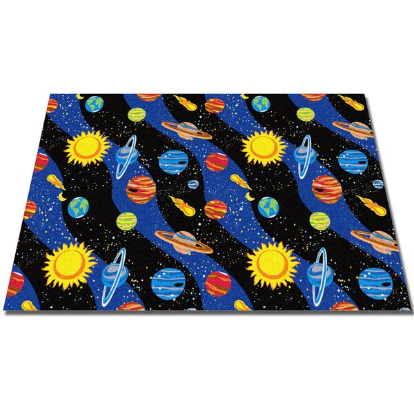 Solar System Area Rug by Kid Carpet