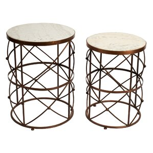 Kempston 2 Piece End Table Set by Mercer41