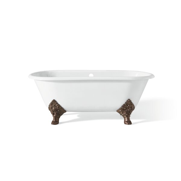 Carlton 70 x 32 Soaking Bathtub with With Continuous Rolled Rim by Cheviot Products