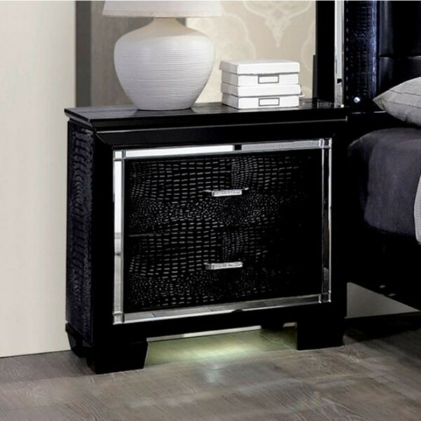 Wheatly 2 Drawer Nightstand by Orren Ellis