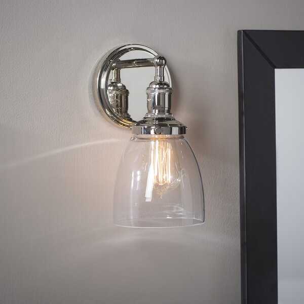 Sandy Springs 1 Light Bath Sconce [Laurel Foundry Modern Farmhouse]