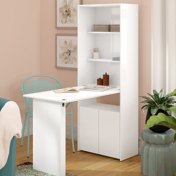 Veazey Desk with Hutch by Latitude Run