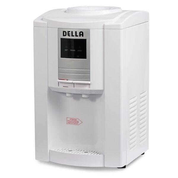 Free-Standing Hot and Cold Electric Water Cooler by Della