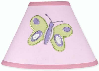 Butterfly 10 Cotton Empire Lamp Shade by Sweet Jojo Designs