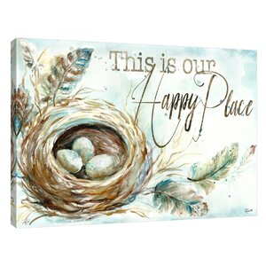 'Our Happy Place' by Tre Sorelle Studios Painting Print on Wrapped Canvas by Jaxson Rea