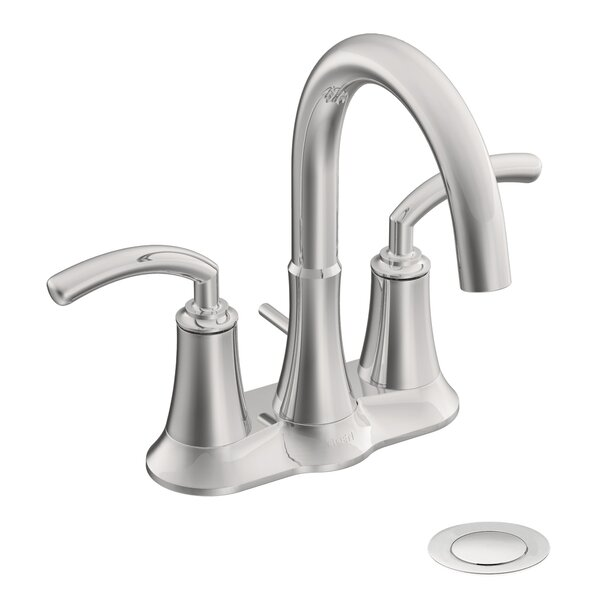 Icon Two Handle Centerset High Arc Bathroom Faucet
