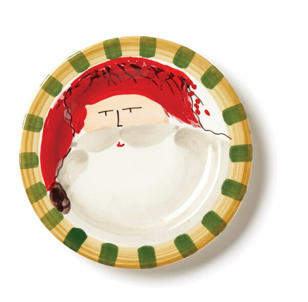 Old St Nick 8.5 Salad Plate by VIETRI