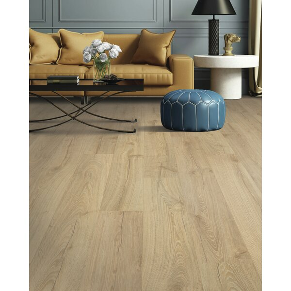 Natrona 7 x 47 x 12mm Oak Laminate Flooring in Wheat by Quick-Step