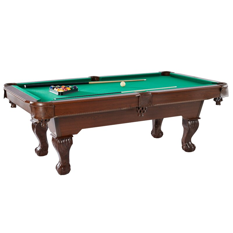 Game room furniture youll love wayfair barrington springdale 7 6 pool table greentooth Image collections