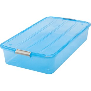 Find Underbed 50 qt Buckle Up Box By IRIS USA, Inc.