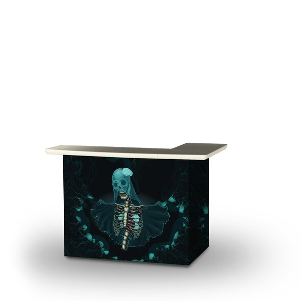 Zahr Halloween Corpse Bride Home Bar by East Urban Home