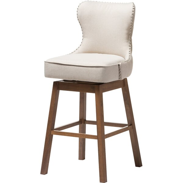 Alfson 30.51 Swivel Bar Stool (Set of 2) by Gracie Oaks