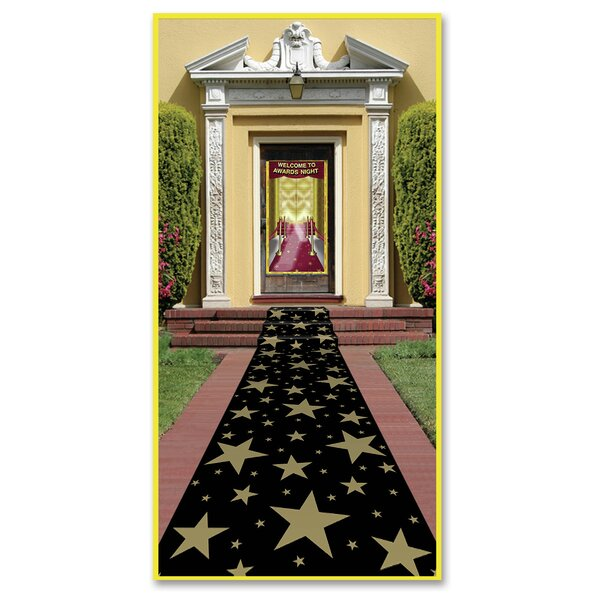 Awards Night Gold Star Runner Black/Gold by The Holiday Aisle