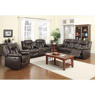 Bellabocca Reclining 3 Piece Living Room Set by Latitude Run®