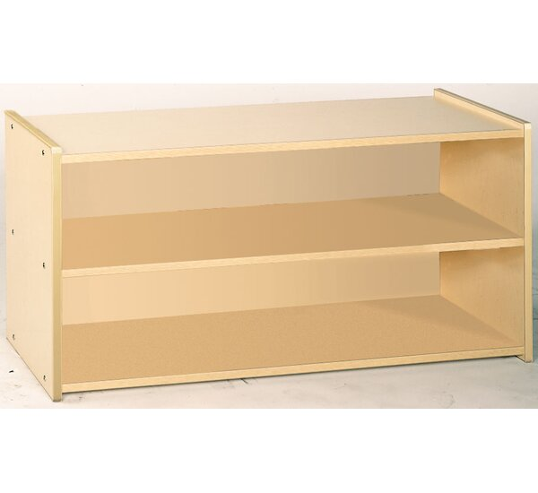 2000 Series 2 Compartment Shelving Unit by TotMate