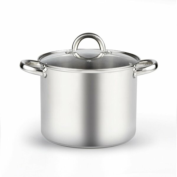 6.5-qt. Stock Pot with Lid by Cook N Home