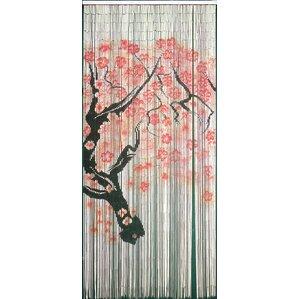 Captivating Cherry Blossom Single Curtain Panel