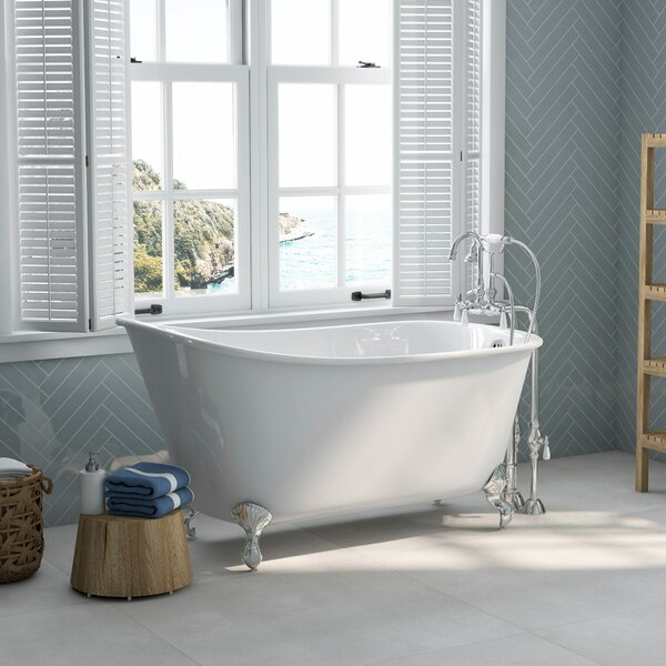 58 x 29 Clawfoot Bathtub by Cambridge Plumbing