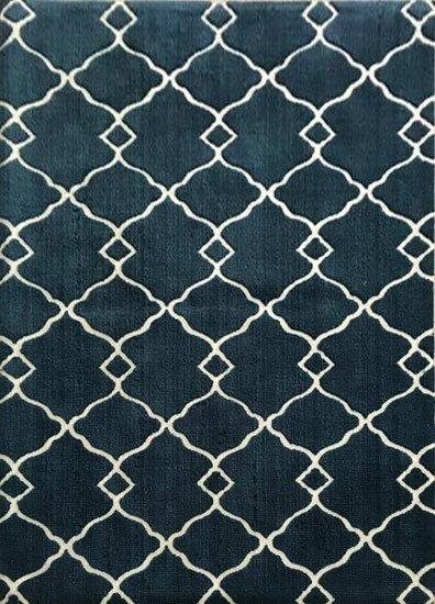 Davy Navy Area Rug by Red Barrel Studio